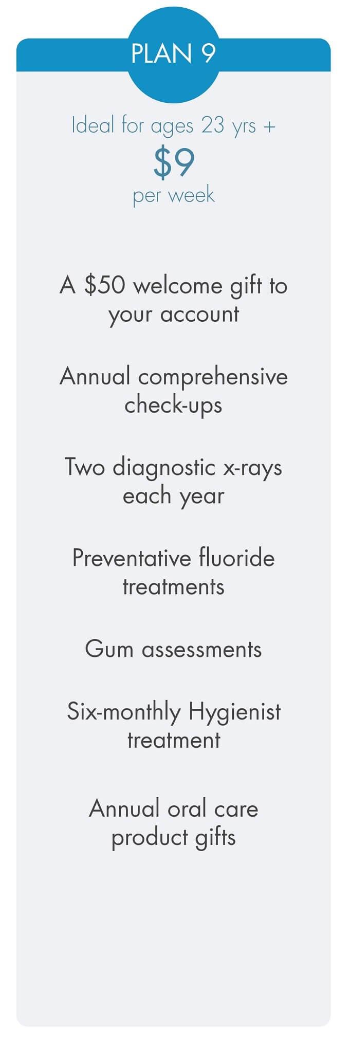 Smilesaver dental savings plan 9