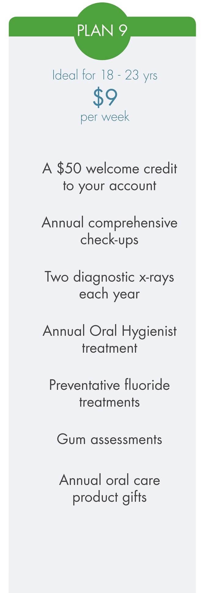 Smilesaver dental savings plan