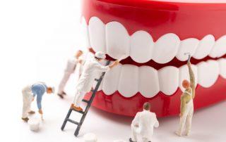 Denture cleaning and repair